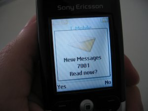 When you ghost someone, there are so much new messages