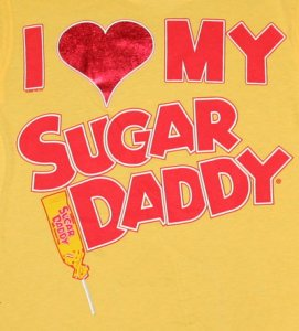 """I love my sugar daddy"""
