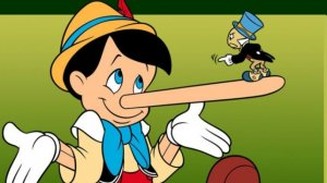 Pinocchio as a liar