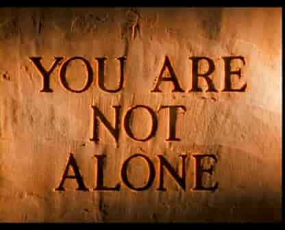 "quote ""you are not alone"""