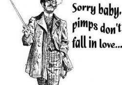 "Pimp quote ""sorry baby pimps dont fall in love:"