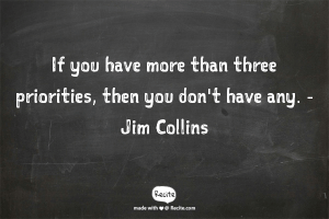 Quote more than three priorities