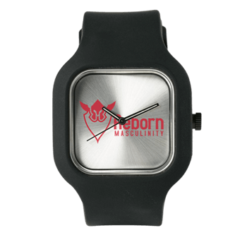 Watch with Reborn Masculinity Logo