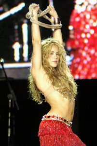 Shakira - her father is a Lebanese Arab.