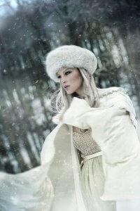Russian ice queen