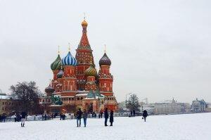 Plaza principal de Moscú