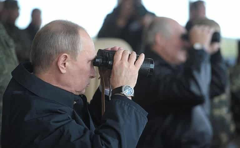 Vladimir Putin through the spyglasses