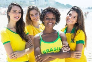 Four Brazilian women