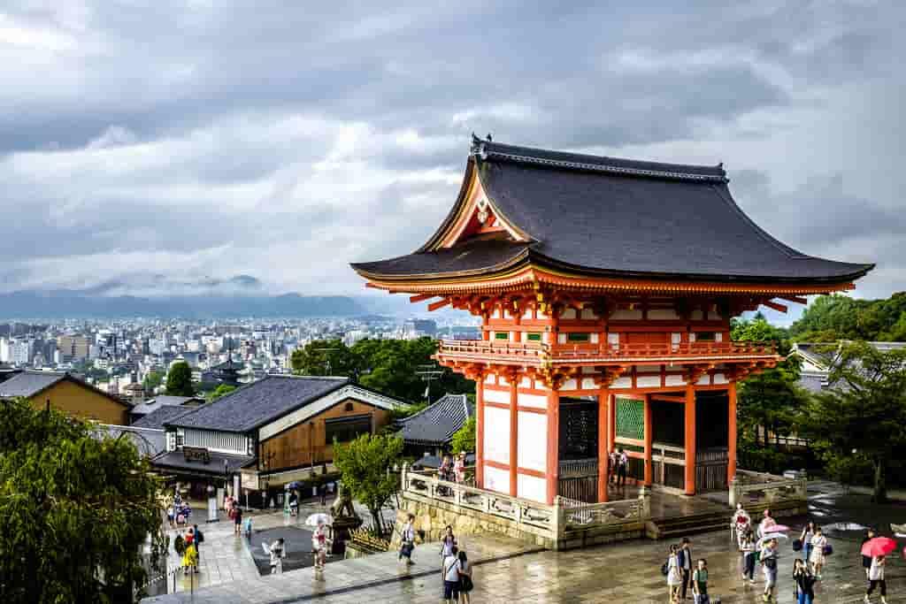 Kyoto after rain