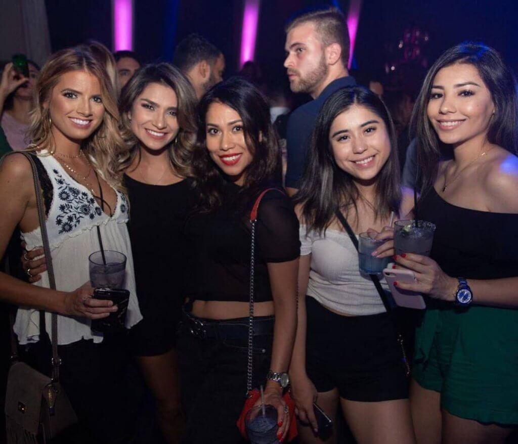 Hot Girls in a Nightclub in Houston