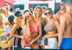 Four Girls in bikini in Houston